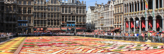 German castles, Belgium Flower Carpet and Amsterdam canals. Part 2. Belgium and Netherlands