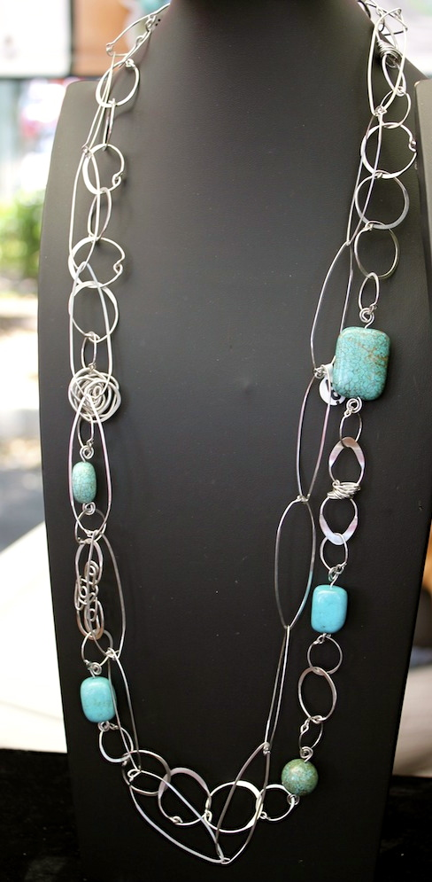Turquoise is hot this summer!