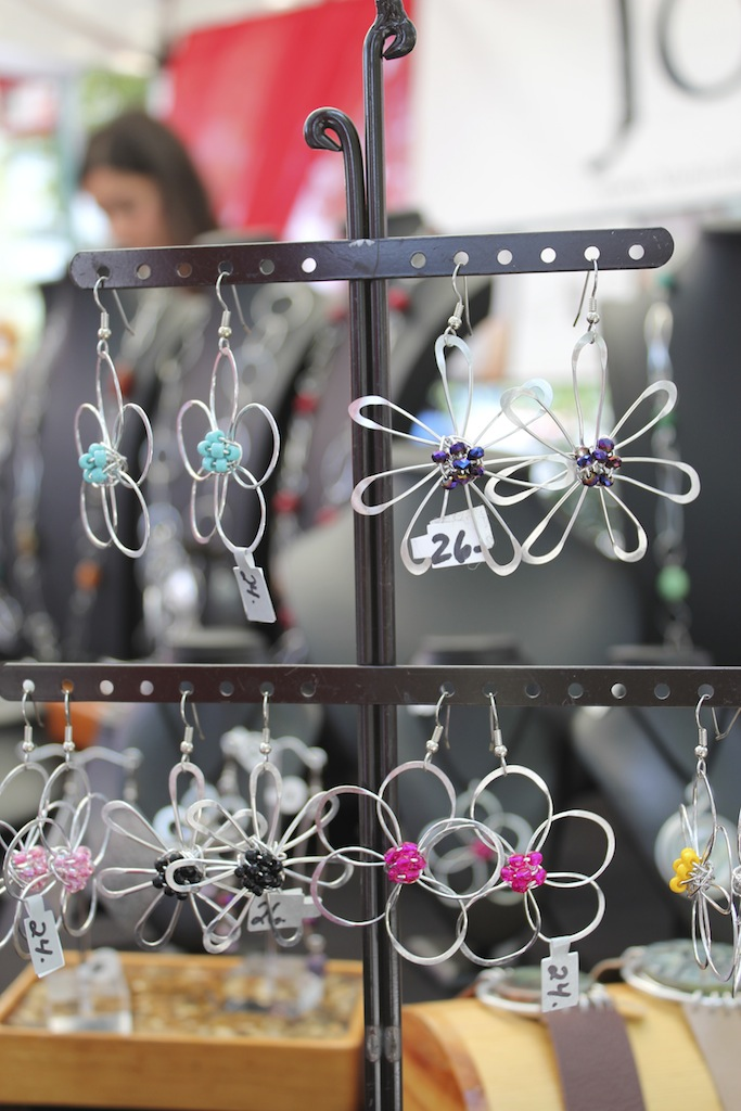 Cute flower earrings just in time for summer.