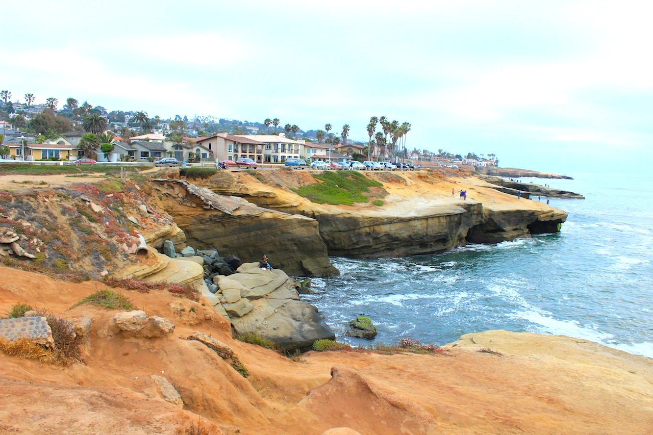 Sunset Cliffs - shots from the movies...