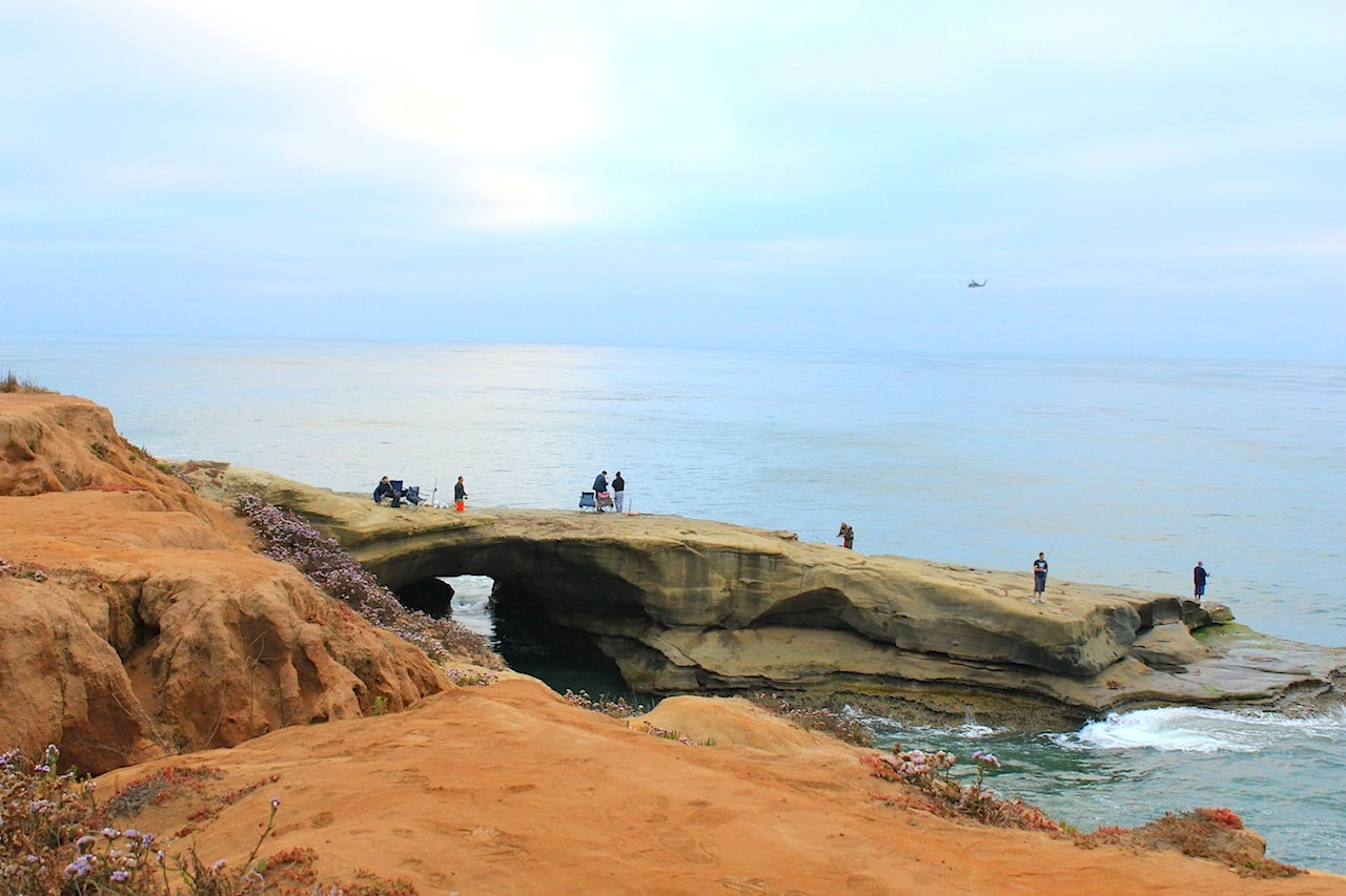 At Sunset Cliffs.
