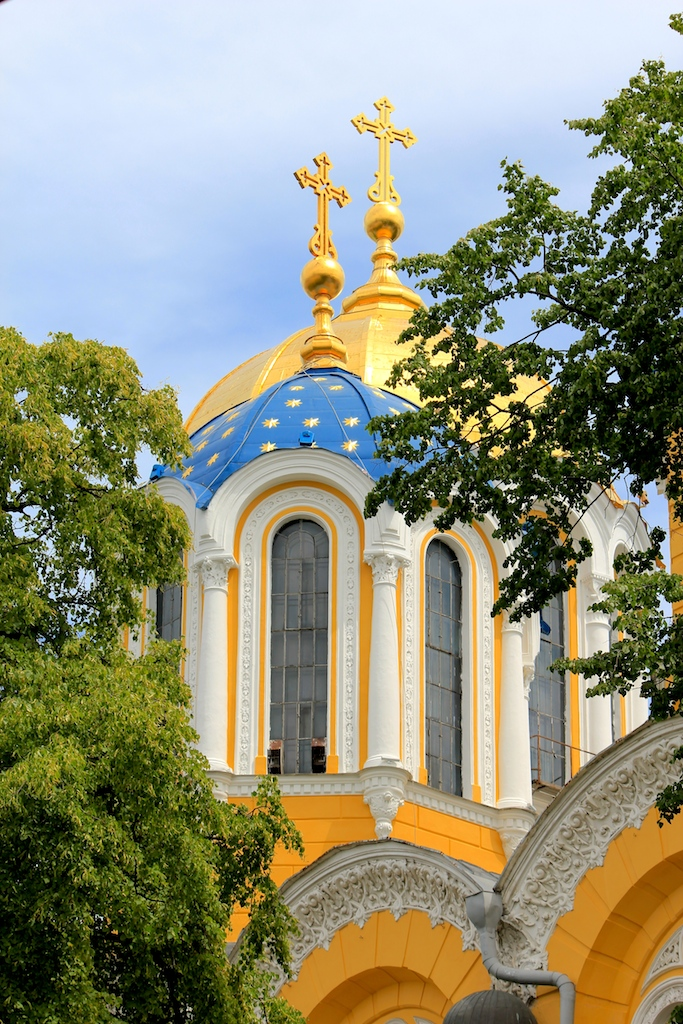 Detail of St Volodymyr's Cathedral