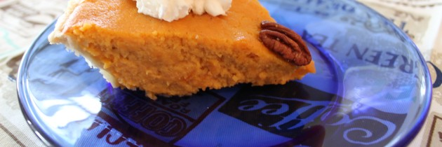 Merry Christmas! Enjoy Sweet Potato Pie!